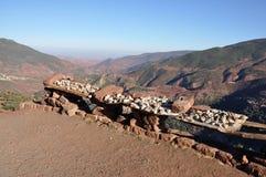 vente du Maroc de minerais Image stock