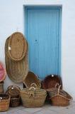 vente Espagne de couvre-tapis de paniers Photos libres de droits