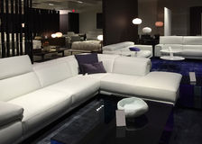 Vente gentille de meubles de salon photo stock