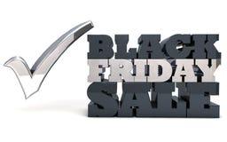 Vente noire de vendredi Photos stock