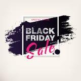Vente noire de vendredi Images libres de droits