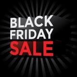 Vente noire de vendredi illustration stock