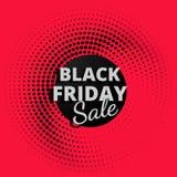 Vente noire de vendredi Photo libre de droits