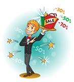 Vente : Offre attrayante illustration stock