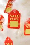 Vente ou escompte de Noël Photo stock