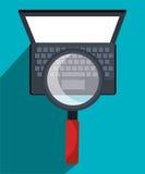 Vente ou marketing en ligne de Digital Photographie stock libre de droits