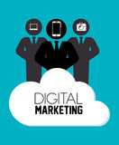 Vente ou marketing en ligne de Digital Images stock