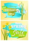 Vente 70 outre de jonquille Narcissus Bulbous d'autocollant Image libre de droits