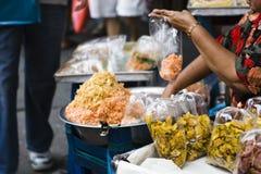 vente sèche de fruits photos libres de droits