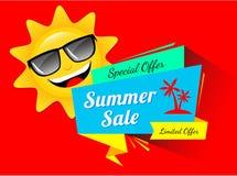 Vente spéciale d'été Photographie stock