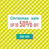 Vente spéciale de Noël Photos libres de droits