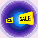 Vente superbe, collection de vecteur d'étiquettes lumineuses de bulle de remise, bannières et autocollants illustration stock