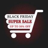 Vente superbe de Black Friday Photos libres de droits