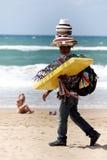Venter bij het strand Royalty-vrije Stock Fotografie