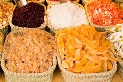 Venterbox van gedroogd fruit Royalty-vrije Stock Afbeeldingen
