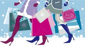 Ventes de Noël Image libre de droits