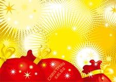Ventes de Noël Illustration de Vecteur