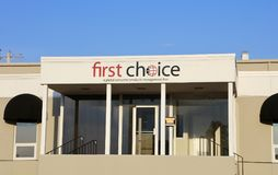 Ventes et groupe marketing de First Choice Images libres de droits
