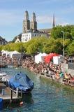 ventesima parata della via a Zurigo Fotografia Stock Libera da Diritti