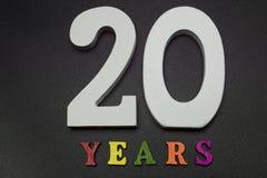 Venti anni Fotografia Stock