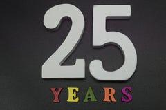 Venticinque anni Fotografia Stock Libera da Diritti