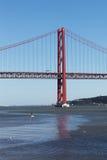 venticinquesima April Bridge, Lisbona, Portogallo Fotografie Stock