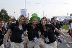 venticinquesimi Universiade Belgrado 2009-12 Fotografia Stock Libera da Diritti