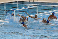 venticinquesimi Universiade Belgrado 2009 - Waterpolo Fotografie Stock