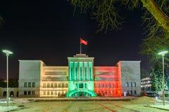 venticinquesimo anniversario della difesa di libertà della Lituania Fotografia Stock Libera da Diritti