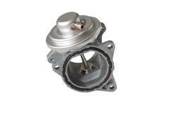ventil för recirkulation för egr-avgasrörgas royaltyfri bild