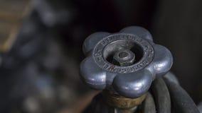 Ventil för säkerhet för gasflaska Royaltyfri Fotografi