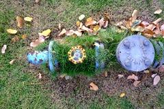 Ventil för vattenförsörjning Royaltyfria Foton