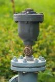 Ventil für Wasserversorgung Stockfoto