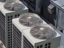 ventilación de la calefacción y dispositivo del aire acondicionado Imágenes de archivo libres de regalías
