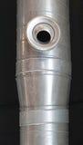 Ventilación del tubo del conducto imagen de archivo