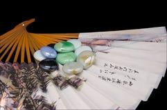 Ventilador chinês Fotos de Stock Royalty Free