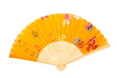 Ventilador chinês fotografia de stock royalty free