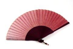 Ventilador chinês vermelho fotografia de stock