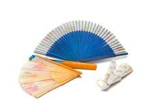 Ventilador chino Foto de archivo libre de regalías