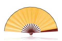 Ventilador chino (camino de recortes) Imagen de archivo libre de regalías