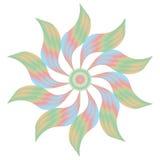 Ventilador colorido Imagem de Stock Royalty Free