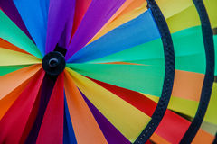 Ventilador colorido Fotografia de Stock