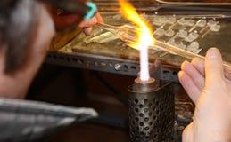Ventilador de cristal. Fotos de archivo libres de regalías
