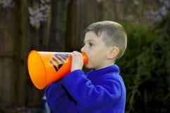 Ventilador de esportes 2 da criança Foto de Stock
