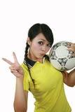 Ventilador de futebol fotos de stock royalty free
