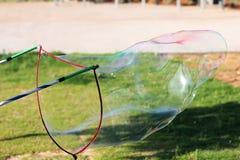 Ventilador de la burbuja Fotos de archivo libres de regalías