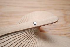 Ventilador de madeira Foto de Stock Royalty Free