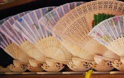 Ventilador de madeira de China Imagem de Stock