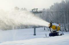 Ventilador de neve imagens de stock