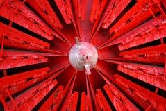 Ventilador de neve Foto de Stock